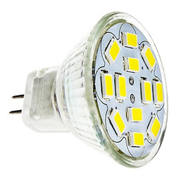 Wholesale Bulb 12 V - Wholesale- HRSOD 5X GU4(MR11) 6W 12 SMD 5730 570 LM Natural White warm white MR11 LED Spot light Bulb DC 12 V