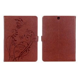 """Wholesale Galaxy S2 Cases Covers - S5Q Folding Leather Case Stand Cover For 9.7"""" Samsung Galaxy Tab S2 T815 Tablet AAAGLT"""