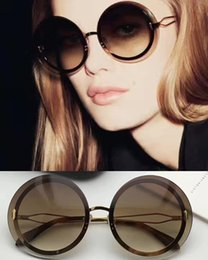 5acd98f730e victoria beckham women 2019 - Fashion victoria beckham Round Brown  Sunglasses VBS128 Designer luxury Sunglasses brand