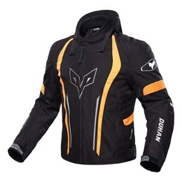 Wholesale motorcycle jacket nylon waterproof - New model top D-205 warm oxford motorcycle off-road jacket ride jackets racing clothing men's off-road jacket cycling jackets windproof j-5