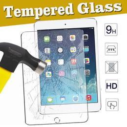Ipad mini résistance aux chutes en Ligne-2.5D 9H Verre Trempé Protecteur D'écran Anti-Rayures Etanche Anti-Rayures Pour Apple iPad Mini 1 2 3 4 iPad Air 5 6 Pro 10.5