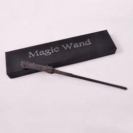 Wholesale Toys Trick Box - Hot sale Led Light Harry Potter Sirius Orion Magical Wand New in Box for stage Magic Tricks Free shipping