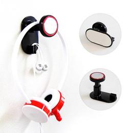 spielkartenadapter Rabatt Neue Ankunft Einstellbar Universal Kopfhörer Headset Kleiderbügel Wandhalter Kopfhörer Stand Rack ABS Material Kostenloser Versand