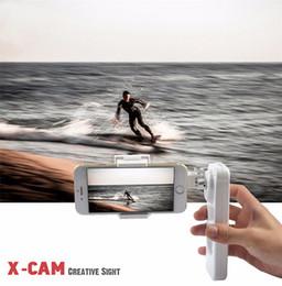 Deutschland X-Cam Sight2 Self Selfie Sticks Handheld Gimbal 2-Achs-Stabilisator Brushless Bluetooth-Steuerung für iPhone 6s Plus Samsung Huawei Versorgung
