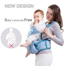 Wholesale Designer Baby Slings - Designer Baby Carrier Infant Toddler Front Facing Carrier Sling Kids Kangaroo Hipseat Baby Care 0-36Months