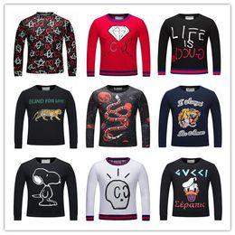 Wholesale Outwear Hoody - 2017 New Arrived Men's Pullover Length Sleeve Hoodies Sweatshirts Jacket Print Leaves Hoody Mens Sportwear Outwear 18962
