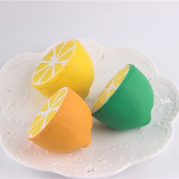 Wholesale New Toys Bulk - New Arrival Colorful Half Lemon Finger Lepin Bulk Venting Ball Anger Stress Reliever Ball Toy Against Humanity Anti Stress Collectible Toys