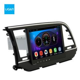 Wholesale Hyundai Car Gps - 10.2 inch Quad Core 1024*600 Android Car GPS Navigation for Hyundai Elantra 2016 Multimedia Player Radio Wifi