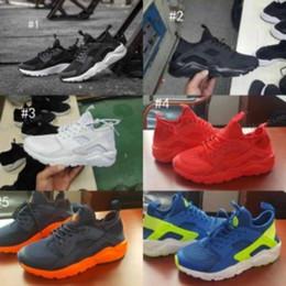 Wholesale Cheap Lightweight Running Shoes - 2017 Cheap Sale Air Huarache 4 IV Running Shoes For Women & Men, Lightweight Huaraches Sneakers Athletic Sport Outdoor Huarache Shoes 5.5-12