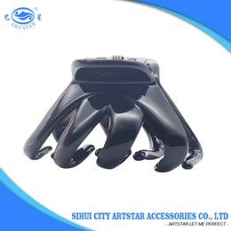Wholesale Hair Claws Clamps - Hair Claws Clips Plastic Good Selling Factory Supply Crab Shaped Classical Small Size for Women Daily