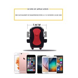 Wholesale Automatic Sports Cars - Universal Bicycle Automatic Lock Phone Holder Sport Bike Car Holder Motorcycle Handlebar Car Mount Holder Stand With Retail Package