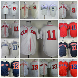 Wholesale Dry Red Clay - #13 Hanley Ramirez Boston Red Sox Mens Jerseys 11 Clay Buchholz Cool Base Baseball Jerseys S-4XL 100% Stiched Free Shipping Mix Order