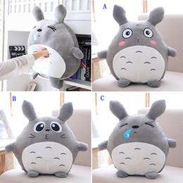 Wholesale Plush Pillow Totoro - Spandex Plush Totoro Toy 45cm Stuffed My Neighbor Totoro Toy Japan Anime Totoro Doll Decor Cushion Pillow Birthday Gift