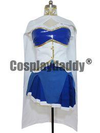 Wholesale Sayaka Miki Cosplay Costume - Puella Magi Madoka Magical Miki Sayaka Cosplay costume deluxe vers