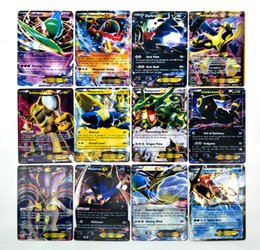 Wholesale Wholesale Kids Collectables - 42 PCS Metal Box Play Cards Random Basic EX Mega Evolution Card Games Playing English Pikachu Collectable Card toy for Kids Gift