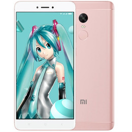 Wholesale Xiaomi Touch Screen - Blue 4GB 64GB Xiaomi Redmi Note 4X Pro 4G LTE Touch ID Deca Core Helio X20 MTK6797 5.5inch IPS 1920*1080 FHD GPS WiFi 13MP Camera Smartphone