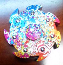 Wholesale Hotwheels Toys - New colorful hot wheel Hand Spinner Fingertip Spiral Fingers Fidget Spinner EDC Handspinner Acrylic Plastic HotWheels Fidget Cube Depression