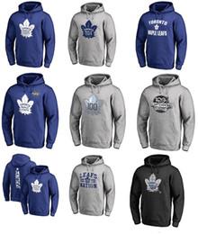 Wholesale Kids Wool Hoodie - 2017 Auston Matthews Toronto Maple Leafs Name & Number Sweatshirts & Hoodies for man women kid