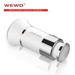 Wholesale Apple Mini Adapter - Car Mobile Phone Charger 2 Port Mini Dual USB Car Chargers Adapter Quick Charging 12V 3.4A for iPhone Samsung Galaxy Xiaomi Car-charger
