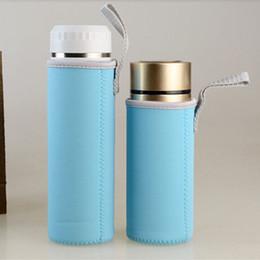 Wasserflasche Beutel Neopren Halter Carrier Insulated 1000ML Portable Cup Cover Trinkflaschen & -halter Fahrradzubehör