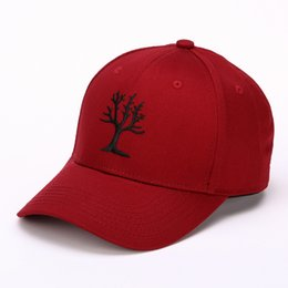 Wholesale Blue Lovers Tree - Fashion Baseball Hats Women Superior Tree Embroidery dad Hat Quality Goods Lovers Hats snapback caps Girl Hip Hop Cap 5 Color