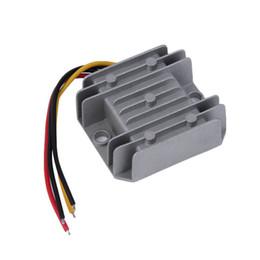 Wholesale 12v 24v Voltage Converter - Waterproof DC DC Voltage Converter Regulator 24V Step Down to 12V 5A Adaptor Promotion