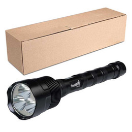 Wholesale Trustfire Led Flashlights - TR-3T6 LED Flashlight 3 Cree XM-L Brightness 3800LM Tactical Flashlight For Camping Self-driving travel Fishing with Retail Box OTH338