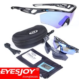 Wholesale Goggle Motorcycle Silver Lens - Hot Outdoor Sports Windproof Sand Polarized Sunglasses Cycling Motorcycle Glasses Men Womens Fashion Goggles with Box and Accessories