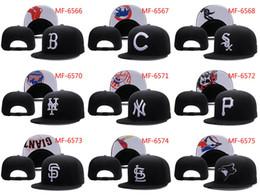 Wholesale Cream Team - Hot New Men's Women's Basketball Snapback Baseball Snapbacks All Teams Football Hats Mens Flat Caps Adjustable Cap Sports Hat mix order