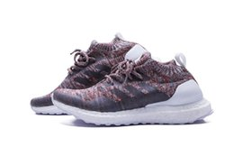 Wholesale Womens Nipples - Best quality Popular womens and mens Ultra Boost Mid Kith BY2592 Rainbow Runing shoes with nipple top quality 2018 sneaker Free DHL