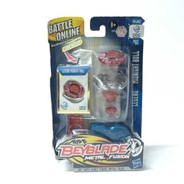 Wholesale Beyblade Toys For Free - Hot For HASBRO Beyblade METAL FUSION LEGEND MIDNIGHT BULL BALANCE 125SF BB02 LET IT RIP Wholesale Free Shipping Popular Kids Toy