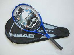 Wholesale Strings Tennis Racket - Free Shipping Tennis Racket raquete de tennis Carbon Fiber Top Material tennis string raquetas de tenis