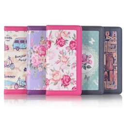 Wholesale Beautiful Stand - Beautiful Flower leather Case Wallet Leather Stand Card Pouch Case For Iphone 7 7PLUS 7G I7 6 6S Plus I6S