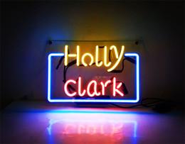 2019 bierzeichen lichter für bars New HIGH LIFE Neon Bier Zeichen Bar Zeichen Echtglas Neonlicht Bier Zeichen JTN 021 HOLLY CLARK 13x9 001 rabatt bierzeichen lichter für bars