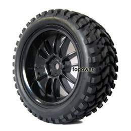 Wholesale Pulling Tires - 4x RC HSP Pull Rally 1:10 Car On Road 1:16 Off-Road Wheel Rim & Tyre,Tires 6031-7004