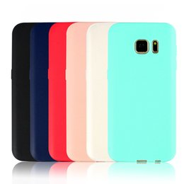 Wholesale For Samsung S7 edge J7 Grind arenaceous tpu phone casa TPU super thin shell for DHL