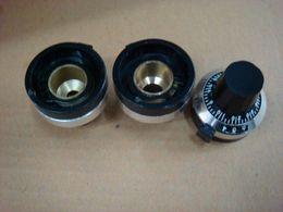Wholesale Potentiometer Knobs Wholesale - Wholesale- [BELLA]Multi-turn potentiometer knob cap holes were 4MM 6MM 6.35MM--5PCS LOT