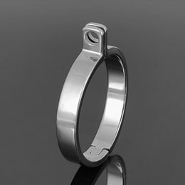 Wholesale Special Sex Doll - Sex doll, stainless steel chastity decorated special ring,square pin ring,the old ring, male chastity device, 2017 Christmas gift