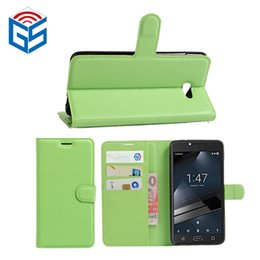 Wholesale China Smart Products - Product import from China best quality pu and tpu leather flip cover case for vodafone smart ultra 7 vfd700