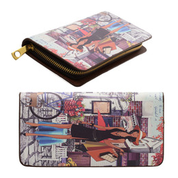 Wholesale Cheap Purple Clutches - ANNA JONES Brand Wallets Colorful Cheap Women Wallet Clutch Bag Credit Card Package Ladies Purse Long Pretty Style VKP1291
