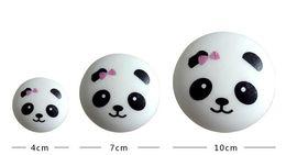 Wholesale Panda Jumbo Bun - 2017 new 10pcs lot hot sell,4CM 7CM 10CM Jumbo Squishy Buns Bread Charms, Panda Shape Squishies Cell Phone Straps, Wholesale Price