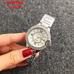 Wholesale Wholesale Mechanical Watches Swiss - Mens Automatic Mechanical Wrist Watch Rose Watch Child Cartoons President Day Date Stainless Steel News Watch Ceramic Swiss