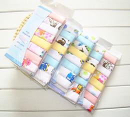 Wholesale Newborn Baby Handkerchief - Wholesale- Mom's care 100% Cotton Bibs 8 PCS Set Double Layer Baby Saliva Towel Infant Burp Cloths Toddler Handkerchief Newborn Feeding Bib