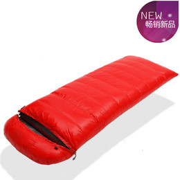 Wholesale Down Light Can - Wholesale- Ultra-light goose down 1200g 1500g 1800g 2000g can be spliced envelope adult breathable thickening goose down sleeping bag
