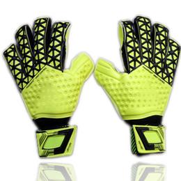 Wholesale Red Ads - 2016 New man soccer gloves finger protection Professional goalkeeper gloves ADS Goal keeper Gloves Soccer Goalie Soccer