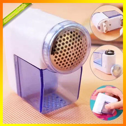 Wholesale Sweater Ball Trimmer - Portabel Electric Lint Remover Machine Sweater Clothes Fabric Shaver Machine Pruning Mini Hair Ball Trim Trimmers Fast Shipping