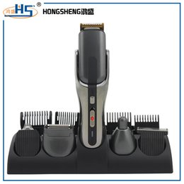 Wholesale portable electric cordless hair trimmer set for barber rechargeable in hair clipper meet satisfaction