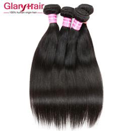 Wholesale Malaysian Weave Uk - Wholesale Remy Human Hair Weave uk 8a Brazilian Peruvian Malaysian Indian Mongolian Cambodian Raw Virgin Hair Straight Braiding Hair Bunldes