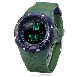 Wholesale Water Resistant Watch Analog Alarm - Wholesale- Student's Multi-functional 30M Water Resistant LED Electronic Wrist Watch with Stopwatch, Night Light & Alarm Clock Function 783