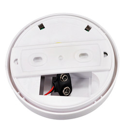 Wholesale Wholesale Wireless Security Systems - High Sensitive Photoelectric Home Security System Cordless Wireless Smoke Detector Fire Alarm Equipment